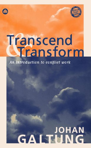 9780745322544: Transcend and Transform: An Introduction to Conflict Work (Peace By Peaceful Means)