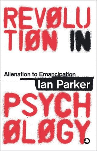 9780745325361: Revolution in Psychology: Alienation to Emancipation