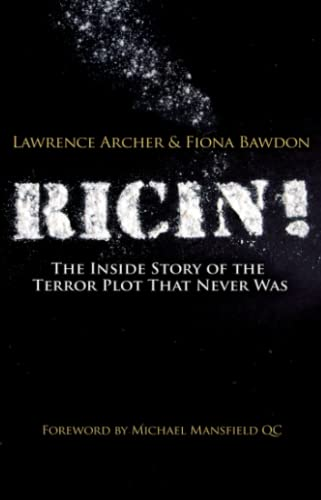 9780745329277: Ricin!: The Inside Story of the Terror Plot That Never Was