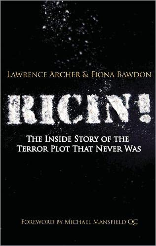 9780745329284: Ricin!: The Inside Story of the Terror Plot That Never Was