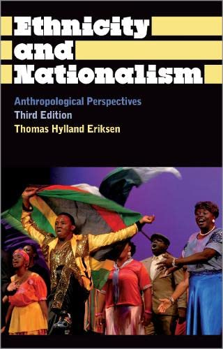 9780745330433: Ethnicity and Nationalism: Anthropological Perspectives (Anthropology, Culture and Society)