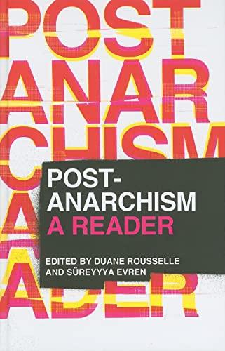 9780745330877: Post-Anarchism: A Reader