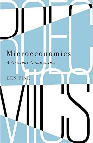 9780745336022: Microeconomics: A Critical Companion (Political Economy and Development)