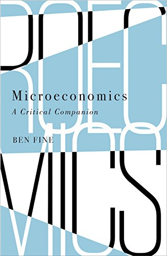 9780745336022: Microeconomics: A Critical Companion