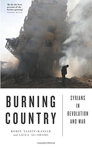 9780745336220: Burning Country: Syrians in Revolution and War