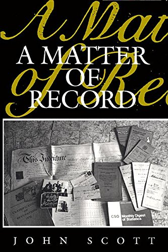 9780745600307: A Matter of Record: Documentary Sources in Social Research