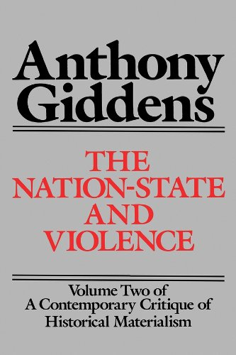 9780745600321: The Nation-State and Violence (v. 2)