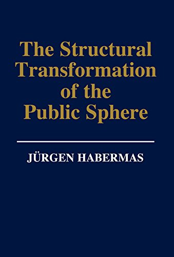 9780745602745: The Structural Transformation of the Public Sphere: Inquiry into a Category of Bourgeois Society