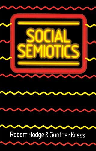9780745603735: Social Semiotics