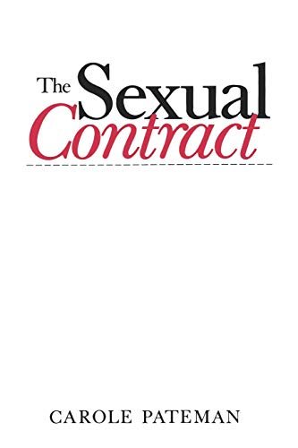 9780745604329: The Sexual Contract (Sociology of Health and Illness Monographs)