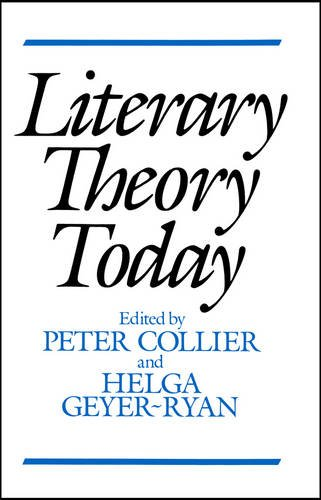 9780745604770: Literary theory today