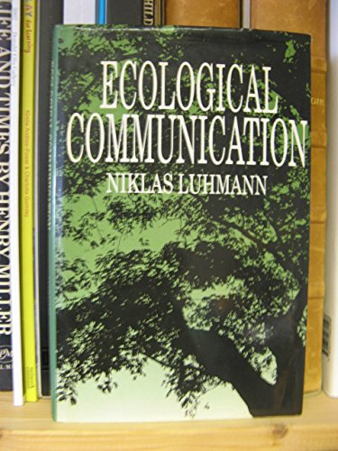 9780745605005: Ecological Communication (English and German Edition)