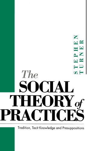 9780745605043: The Social Theory of Practices: Tradition, Tacit Knowledge and Presuppositions