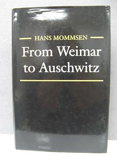 9780745605579: From Weimar to Auschwitz: Essays in German History