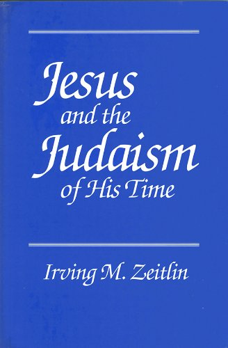 9780745607849: Jesus and the Judaism of His Time