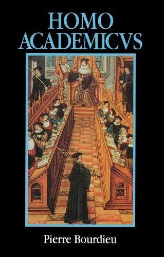 9780745608310: Homo Academicus