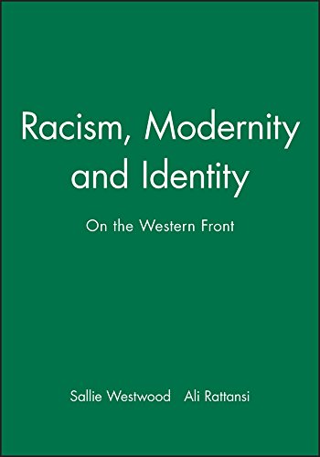 9780745609423: Racism, Modernity and Identity: On the Western Front