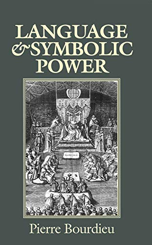 9780745610344: Language and Symbolic Power