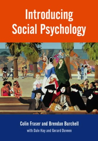 9780745610948: Introducing Social Psychology