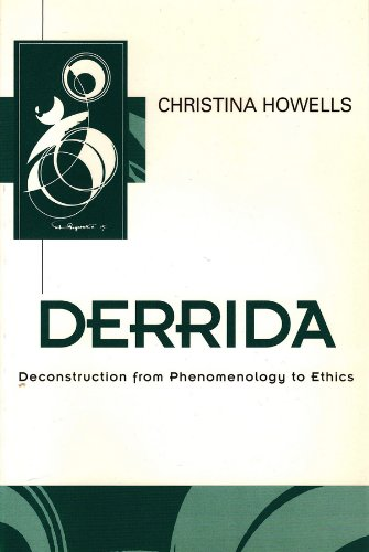 9780745611679: Derrida: Deconstruction from Phenomenology to Ethics (Key Contemporary Thinkers)