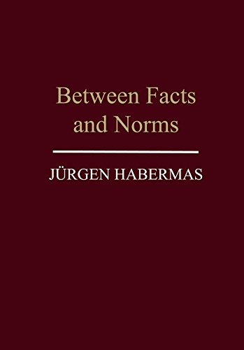 9780745612294: Between Facts and Norms: Contributions to a Discourse Theory of Law and Democracy