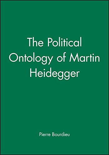 9780745617145: The Political Ontology of Martin Heidegger