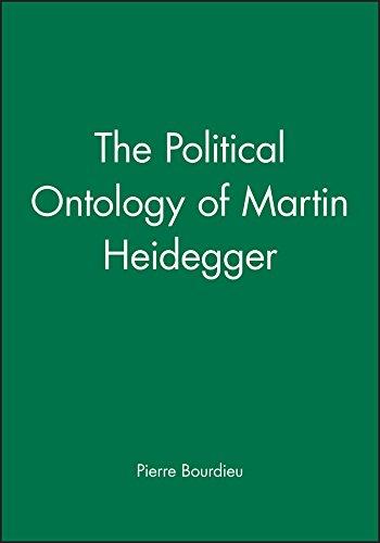 9780745617145: The Political Ontology of Martin Heidegger
