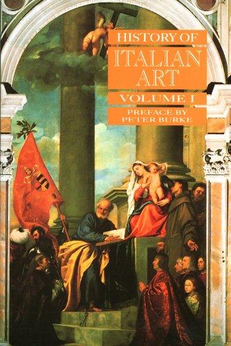 9780745617541: History of Italian Art: 1