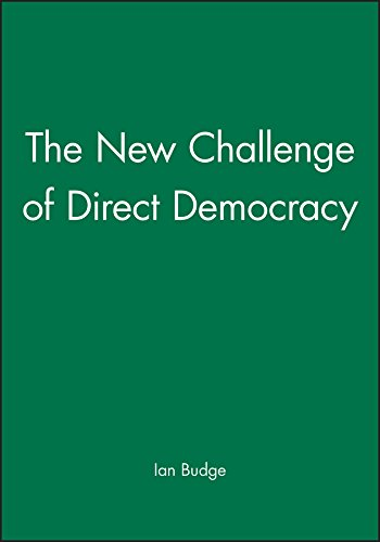 9780745617657: The New Challenge of Direct Democracy
