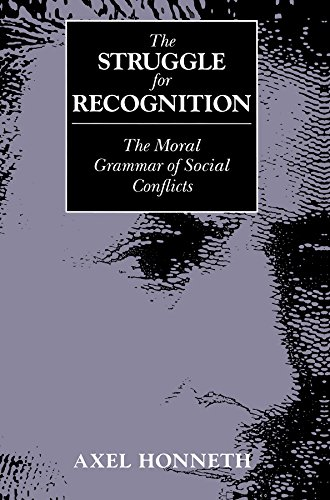 9780745618388: The Struggle for Recognition: Moral Grammar of Social Conflicts