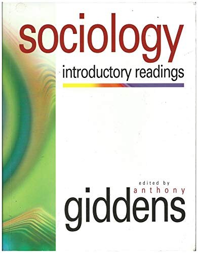 9780745618746: Sociology: Introductory Readings