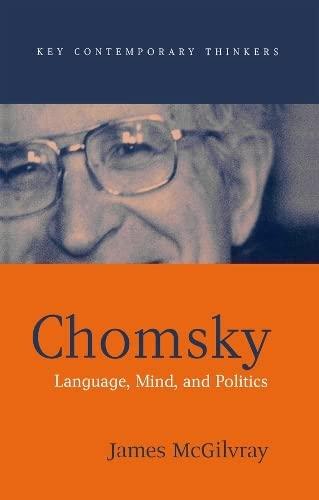 9780745618876: Chomsky: Language, Mind, and Politics (Key Contemporary Thinkers)