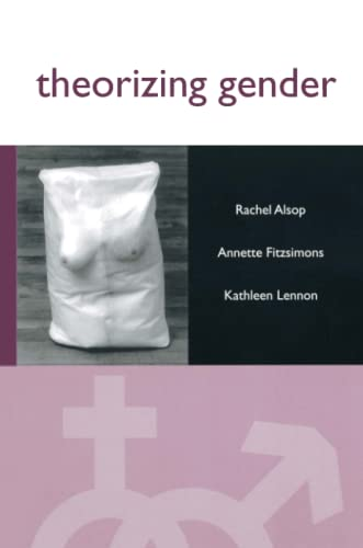9780745619446: Theorizing Gender: An Introduction