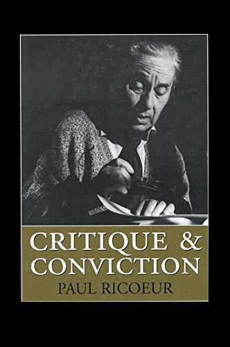 9780745620015: Critique and Conviction : Conversations with François Azouvi and Marc de Launay