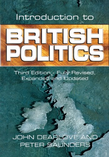Introduction to British Politics (0745620965) by John Dearlove; Peter Saunders
