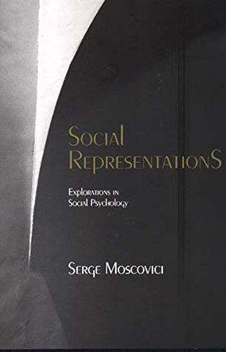 9780745622255: Social Representations: Studies in Social Psychology