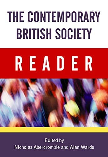 9780745622637: The Contemporary British Society Reader