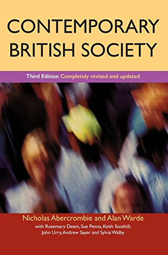 9780745622965: Contemporary British Society