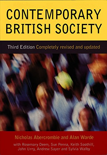 9780745622972: Contemporary British Society