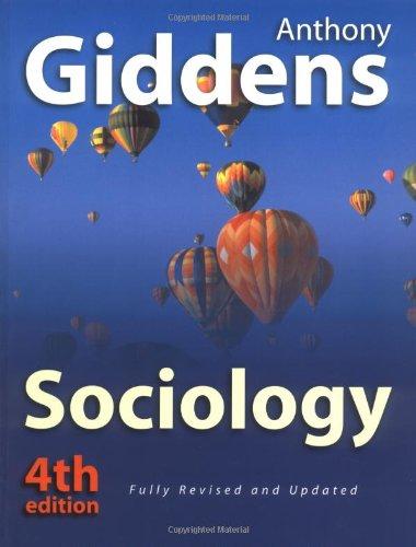 9780745623115: Sociology