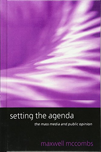 9780745623122: Setting the Agenda: The Mass Media and Public Opinion