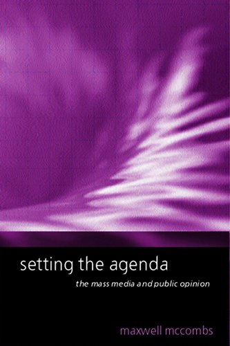 9780745623139: Setting the Agenda: The Mass Media and Public Opinion