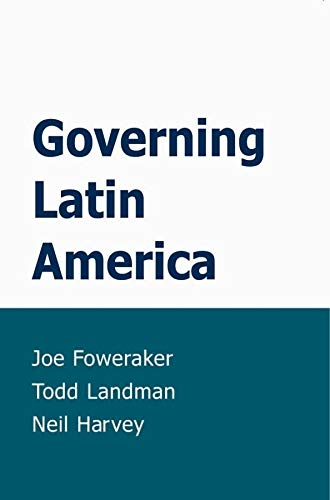 9780745623719: Governing Latin America