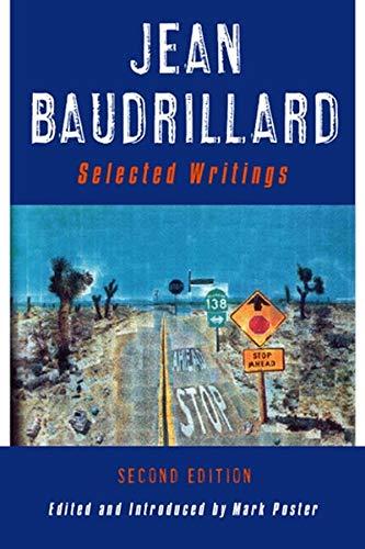 9780745624525: Jean Baudrillard: Selected Writings