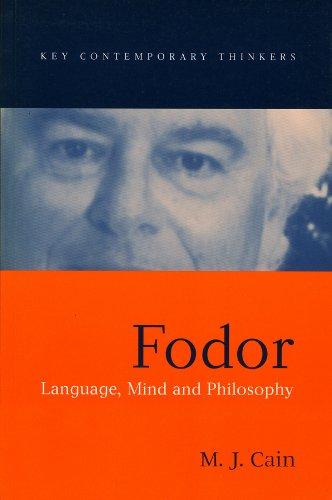 Fodor: Language, Mind, and Philosophy: Cain, M. J.