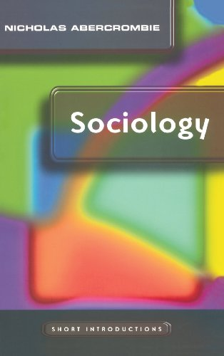 9780745625416: Sociology: A Short Introduction (Short Introductions)