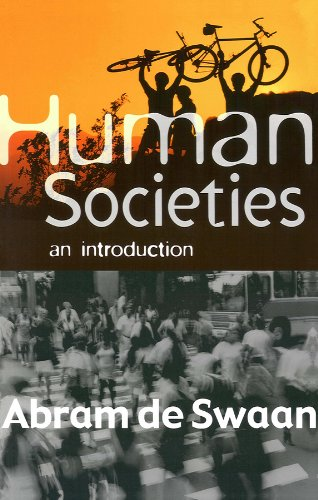 9780745625911: Human Societies: An Introduction