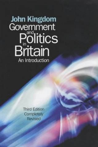 9780745625935: Government and Politics in Britain: An Introduction
