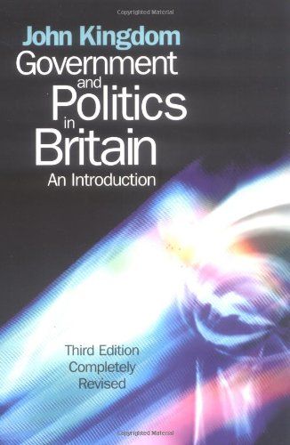 9780745625942: Government and Politics in Britain: An Introduction
