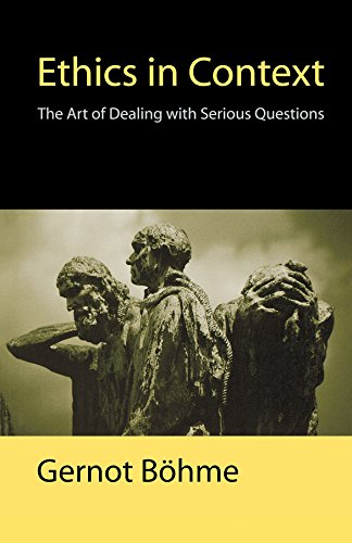 9780745626383: Ethics in Context: The Art of Dealing with Serious Questions